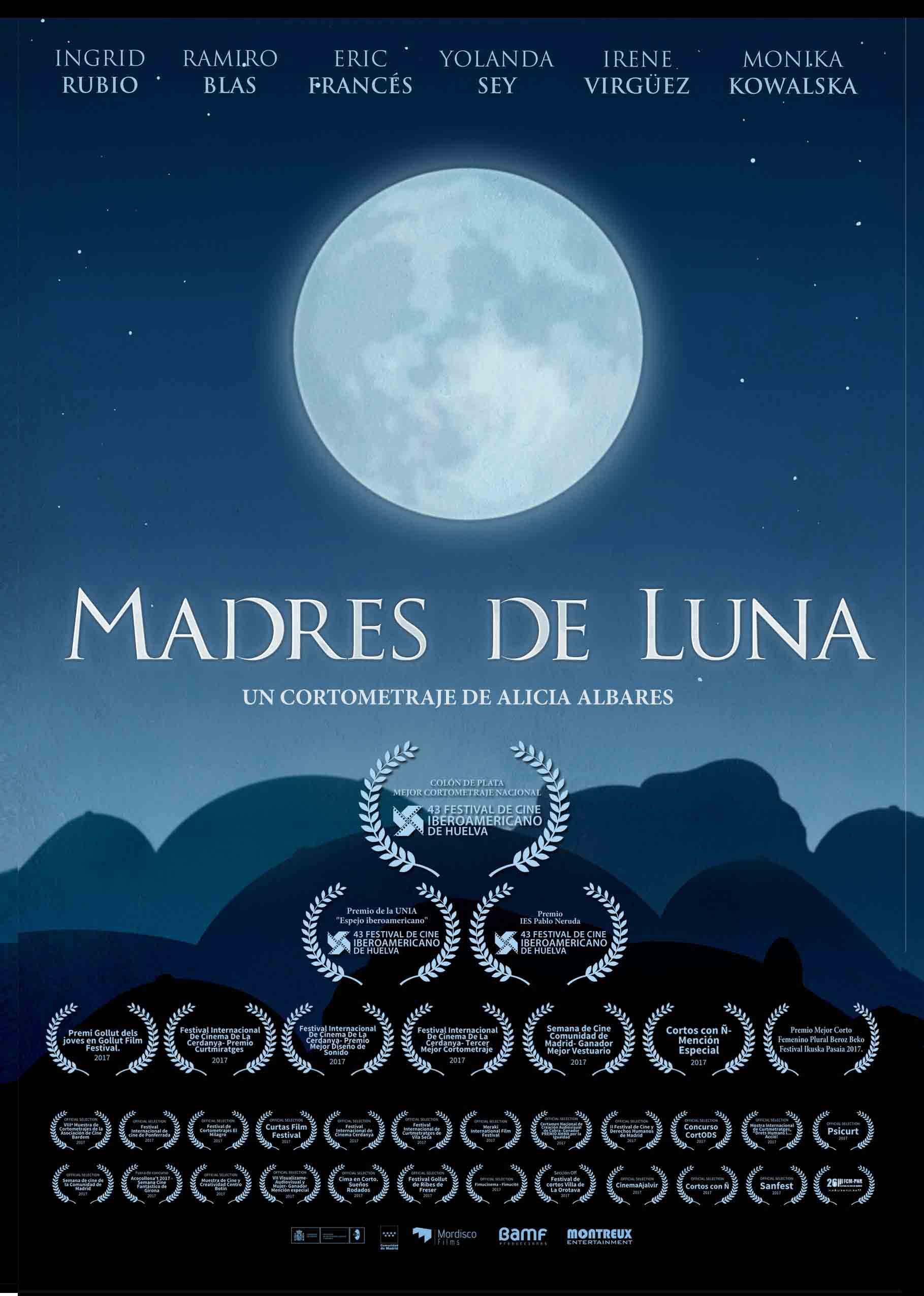 Madres de Luna - Cartel