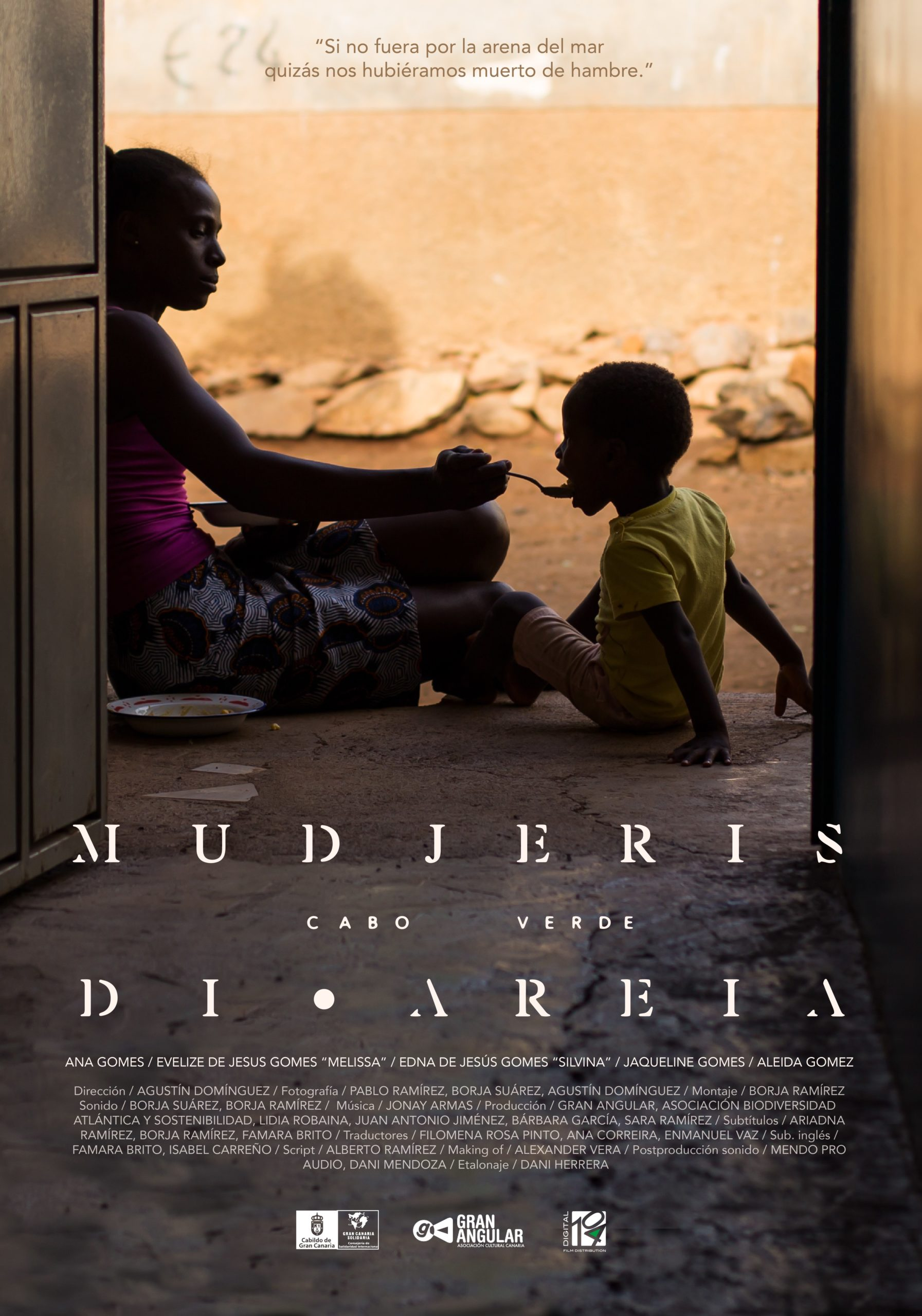 MUDJERIS DI AREIA - - Poster Digital 104 Film Distribution
